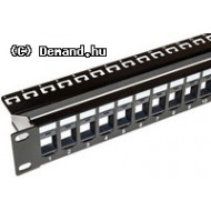 Szekr. x Patch Panel 24 KEYSTONE UTP UTP0249