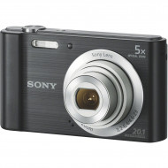 "Sony CyberShot DSC-W800 Black 20,1MP,Zoom5x,LCD2,7"",Black,SD/SDHC,96,8x55,5x20,8mm,109g,HD"