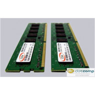 CSX Desktop 4GB (2x2GB KIT) DDR3 (1600Mhz, 128x8) Standard memória KIT