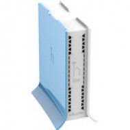 Mikrotik RB941-2nD-TC hAP Lite with 650MHz CPU, 32MB RAM, 4xLAN, built-in 2.4Ghz 802.11b/g/n 2x2 two chain wireless with integrated antennas RB941-2nD-TC