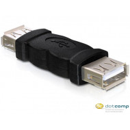 Delock DL65012 Gender Changer USB-A female - USB-A female adapter