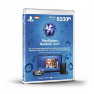 SONY PSN PlayStation Live Card (PS4) 6000 Ft, új cikkszám PS719896333