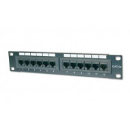 Digitus 10'' CAT5e 12-portos UTP patch panel DN-91512U