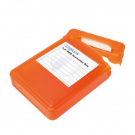 LOGILINK - 3.5'' HDD védő doboz orange UA0133O