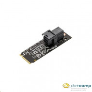 ASUS HYPER KIT adapter M.2 to Mini SAS HD, compatible with 2.5'' SSD NVMe HYPER KIT