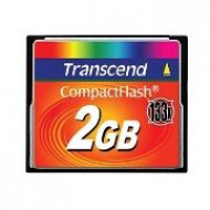 Transcend Compact Flash 2GB High Speed 133x memóriakártya TS2GCF133
