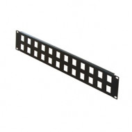 "CONTEG patch panel 19"" 2U 24p"