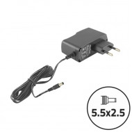 Qoltec AC adapter for LCD screen/router 10.5W   5V   2.1A   5.5*2.5 50034.10.5W