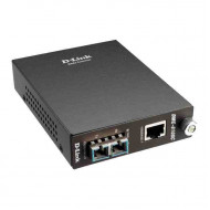 D-LINK 1000BaseT to 1000BaseLX (SC) Singlemode Media Converter - UTP to Singlemode Fiber Media Converter - SC Fiber connector - Distance up to 10km - Includes Power Supply for standalone use