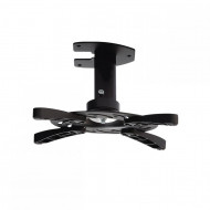 ART Holder P-101 *16cm* to projector black 15KG mounting to the ceiling RAMART P-101B-AL CZA