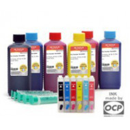 EPSON T6642/T6732XL TINTA Cyan 100ml (For Use) OCP TEPSONT6642INKO