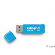 Pen Drive 8GB Integral Neon USB 2.0 kék (INFD8GBNEONB)