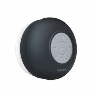 Logilink Wireless shower speaker, black SP0052