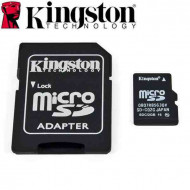 KINGSTON 8GB Micro SDHC Card CL4 + adapter