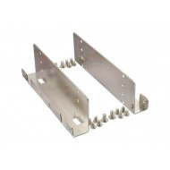 Gembird metal mounting frame for 4 x 2.5'' HDD/SSD to 3.5'' bay MF-3241