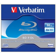 Verbatim BD-R DL 50GB 6x Disc (43748)