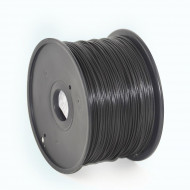Filament Gembird ABS Black   1,75mm   1kg 3DP-ABS1.75-01-BK