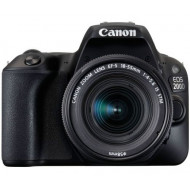 CANON EOS 200D + EF-S 18-55mm f/4-5.6 IS STM kit fekete