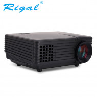 Rigal Electronics RD-805A Smart + wifi + TV mini fekete led projektor