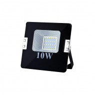 ART External lamp LED 10W,SMD,IP65, AC80-265V,black, 4000K-W L4101520