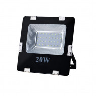 ART External lamp LED 20W,SMD,IP65, AC80-265V,black, 6500K-CW L4101560