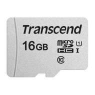 Memory card Transcend microSDHC USD300S 16GB CL10 UHS-I U1 Up to 95MB/S TS16GUSD300S