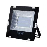 ART External lamp LED 30W,SMD,IP65, AC80-265V,black, 4000K-W, sensor L4101585