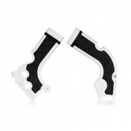 ACERBIS FRAME PROTECTOR X-GRIP CRF 250 14/17 + 450 13/16 (WHITE * RED * SILVER * SILVER/RED) AC 0017573.