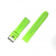 CELLECT Garmin Fenix 5 szilikon óraszíj, Zöld, 22mm CEL-STRAP-FENIX5-G