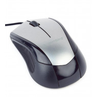 Gembird optical mouse MUS-3B-02-BG, 1000 DPI, USB, Black/space grey MUS-3B-02-BG
