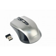 Gembird Wireless optical mouse MUSW-4B-04-BG, 1600 DPI, nano USB,black/spacegrey MUSW-4B-04-BG