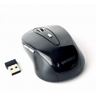 Gembird Wireless optical mouse MUSW-6B-01, 1600 DPI, nano USB, black MUSW-6B-01