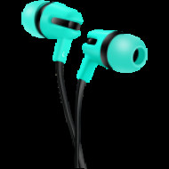 CANYON CANYON Stereo earphone with microphone, 1.2m flat cable, Green, 22*12*12mm, 0.013kg CNS-CEP4G