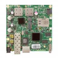 MIKROTIK RouterBOARD 922UAGS with 720MHz Atheros CPU, 128MB RAM, 1xGigabit LAN, USB, 1xSFP, miniPCIe, SIM slot, built-in 5Ghz 802.11a/c 2x2 two chain wireless, 2xMMCX connectors RB922UAGS-5HPacD