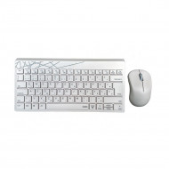 Rapoo 8000S Wireless Keyboard & Mouse Combo White 190803