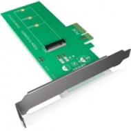 IcyBox PCI-Card, M.2 PCIe SSD to PCIe 3.0 x4 Host for Main Board, Full Profile IB-PCI208