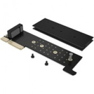 IcyBox PCI-Card, M.2 PCIe SSD to PCIe 3.0 x4 Host for Main Board, Mini Profile IB-PCI216