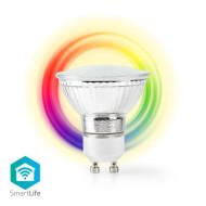 Nedis WiFi Intelligens LED Izzó GU10 színes és meleg fehér /WIFILC10CRGU10/