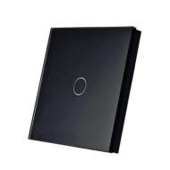 SmartWise T1R1B (R2) RF (rádiós), alternatív / keresztváltó kapcsoló / fali RF távirányító (fekete) SMW-KAP-T1R1B-R2