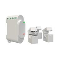 Shelly 3EM három fázisú, professzionális fogyasztásmérő és vezérlő ALL-REL-3EM