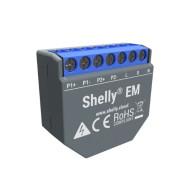 Shelly EM egy fázisú, nagyteljesítményű fogyasztásmérő és vezérlő ALL-REL-EM